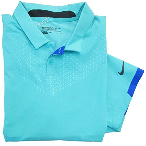 NEW Nike Rory McIlroy 2015 US Open Major Moment Elite 26 Retro/Blue Polo Men XL by Nike