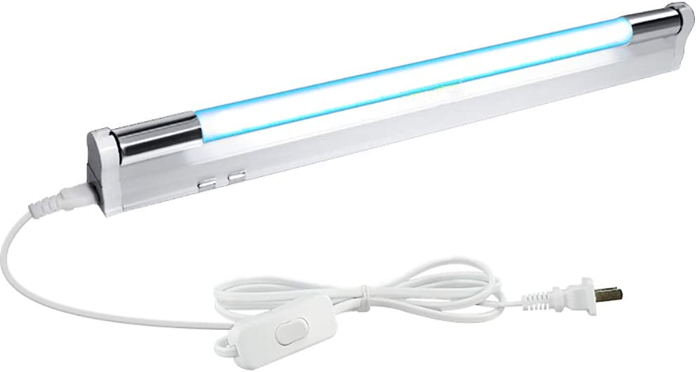 MMZZ UV Disinfection Lamp//Sterilization Light//Germicidial Ultraviolet Lamp,Air Purifier//Remove Formaldehyde//Anti-Bacterial Rate 99/%,for Car//Household//School//Hotel//Pet Area