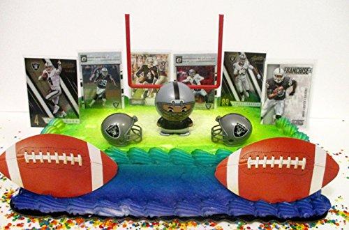 RAIDERS Team Themed Football Birthday Cake (Raiders Birthday)