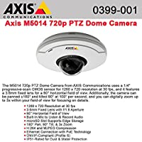 AXIS M5014 HDTV PTZ Network Camera 0399-001 - NEW - Retail - 0399-001
