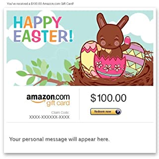 Amazon Gift Card - Email - Happy Easter (Chocolate Bunny) (B004LLILJ6) | Amazon price tracker / tracking, Amazon price history charts, Amazon price watches, Amazon price drop alerts