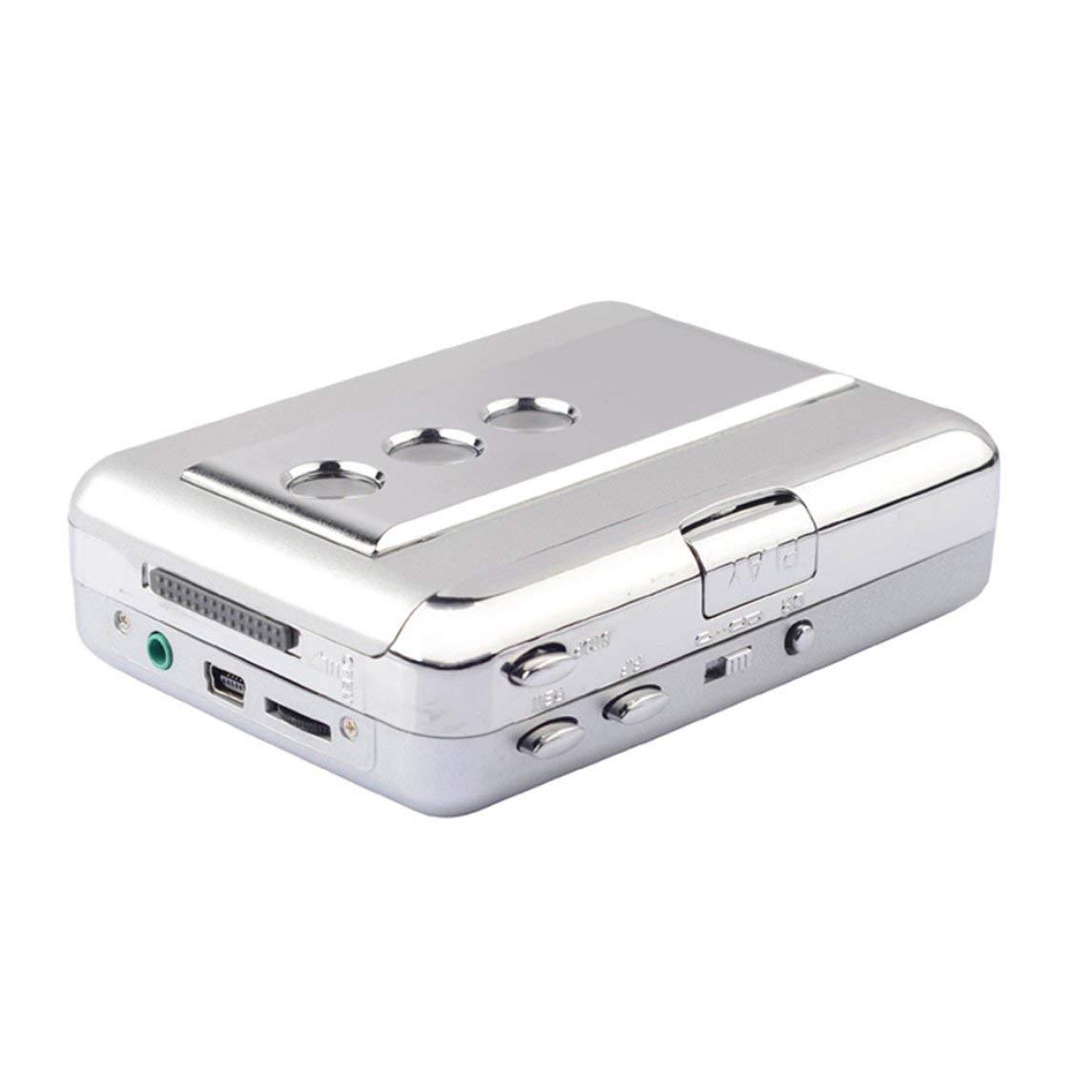 Multifunctional USB Cassette Capture Tape Converter Analog Audio to MP3