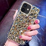 Case for iPhone 12 Mini Diamond Case,3D Handmade