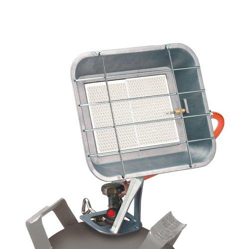 Einhell Gas Heizstrahler GS 4600 (Heizleistung bis 4,6 kW, inkl. Druckminderer, Schlauch, Regler, für handelsübliche Gasflaschen)