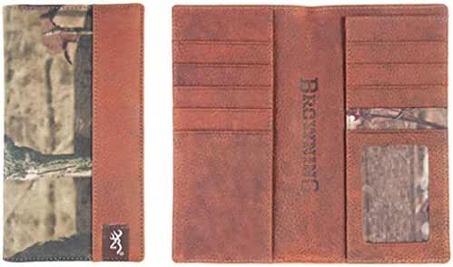 Browning Men's Mossy Oak Camo Executive Wallet - Bgt1172