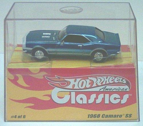 Hotwheels American Classics  4843 1968 Camaro SS in Metallic bluee 1 43 by Mattel