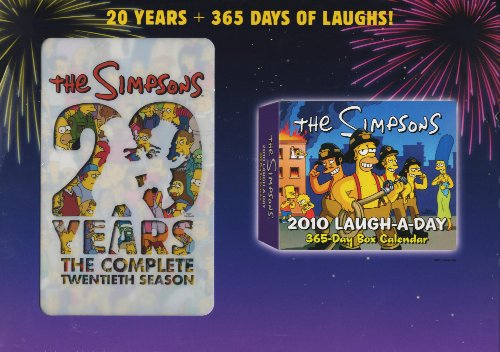 The Simpsons: Season 20 (+ Calender) (Collector's Edition)