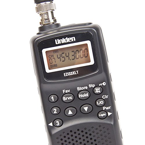 Uniden EZI33XLT compact radio scanner / Hand-held / Frequency bands: VHF-L...