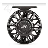 Abel Sealed Drag 4/5 Fly Reel, Gloss Black with Free $50 Gift Card