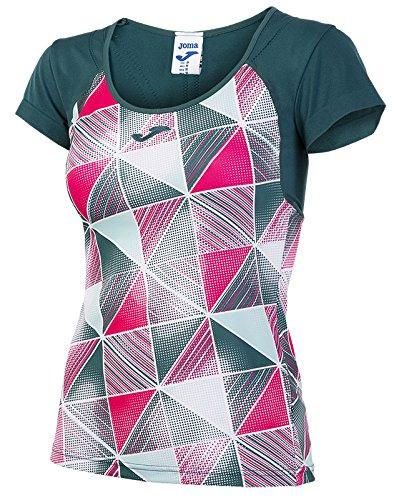 TALLA XS. Joma grafity Patterned S/S Shirt Tenis Camiseta Deportiva para Mujer