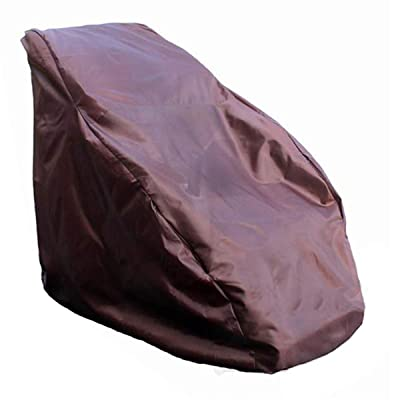 Waterproof Full Body Shiatsu Massage Chair Cover, Zero Gravity Single Recliner Chair Dustproof Protector Cover, Moisture Resistance & Mildew Proof, 59x39x55 Inch : Garden & Outdoor