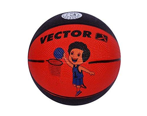 Vector X BB TOON RED Black BasketballSize 3  Red Black