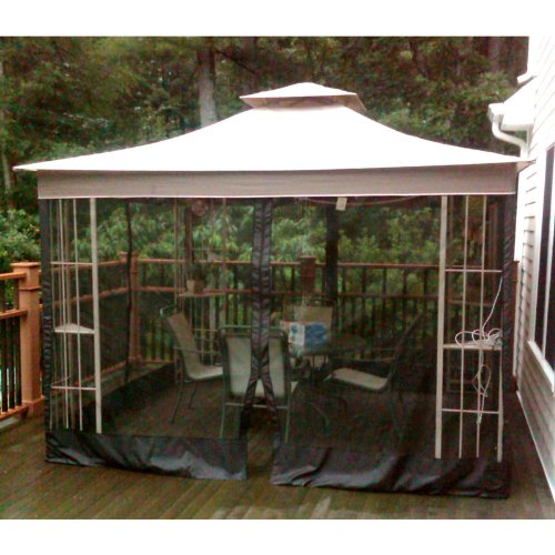 S J Canopies : Garden winds replacement canopy for lowe s
