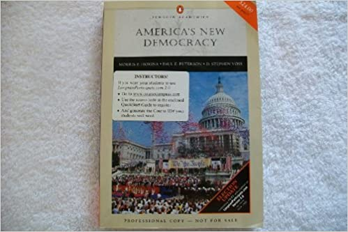 Ebooks format pdf télécharger America's New Democracy: Election Update (Penguin Academics) by Morris P. Fiorina,Paul E. Peterson (French Edition) PDB