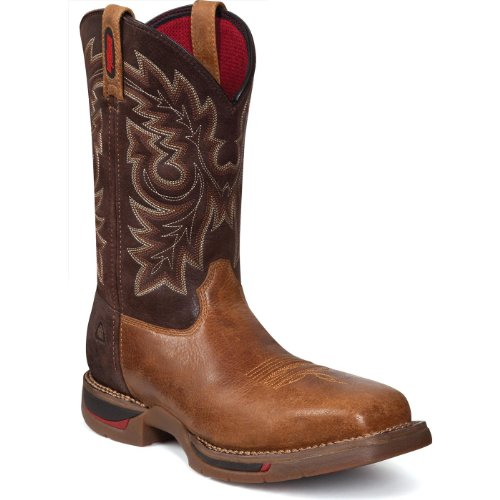 - Rocky Men's FQ0006132 Western Boot, Saddle Brown and Tobacco, 10.5 M US
