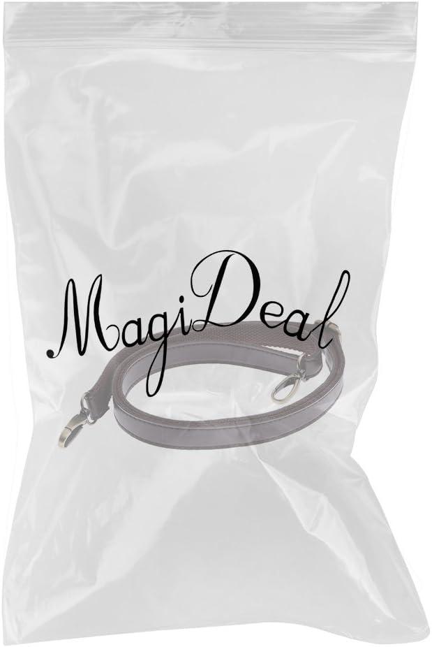 Kaffee MagiDeal Taschenzubeh/ör Trageriemen Leder Schulterriemen Schultergurt Umh/ängeriemen