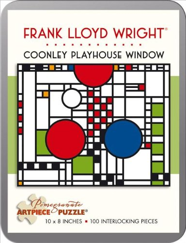 Frank Lloyd Wright - Coonley Playhouse Window: 100 Pieces