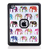 iPad 2 3 4 Case, BasicStock Ultra Slim Soft Silicone PC Hybrid Smart Lightweight Case with Auto Sleep/Wake Function, Hard Back Cover for iPad 2 3 4 (Black)