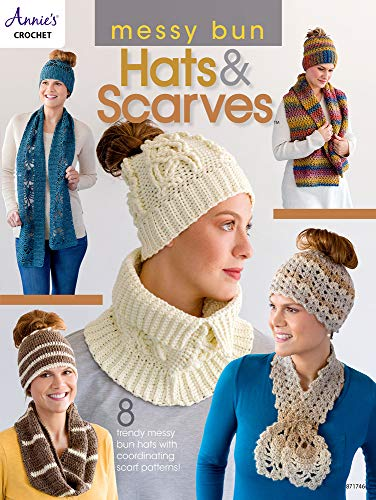 Messy Bun Hats amp Scarves