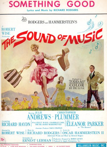Vintage Piano Sheet Music (Vintage Sheet Music: SOMETHING GOOD (The Sound of Music) piano/vocal)