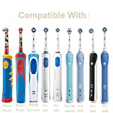 Anotion Electric Toothbrush Travel Case Brush Heads