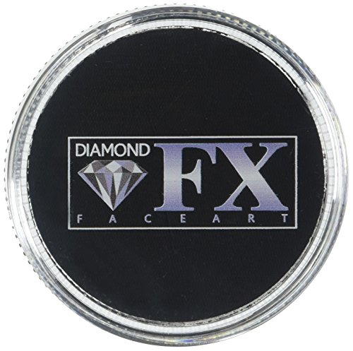 (Diamond FX Essential Face Paint - Black (30)