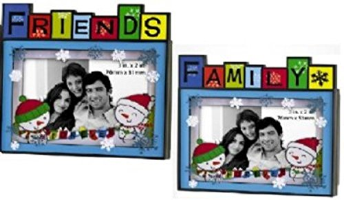 Family Heirloom Photo (Carlton Cards Heirloom Family or Friends Photo Frame Message Christmas Ornament)