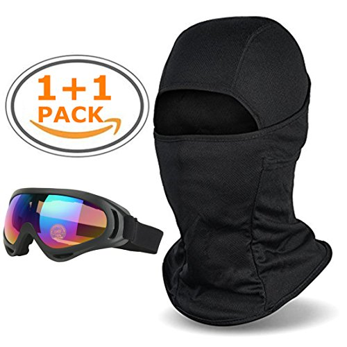 Balaclava - Windproof Ski Face Mask-Ski Goggles,Cold Weather