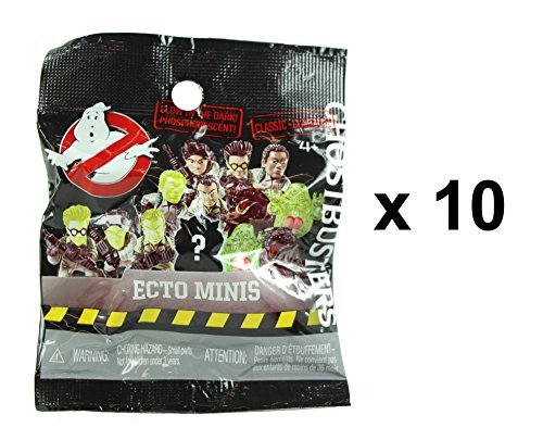 Ghostbusters Classic Glow in the Dark Ecto Minis Figures Mystery Blind Party Bag Pack of (Ghostbusters Party Favors)