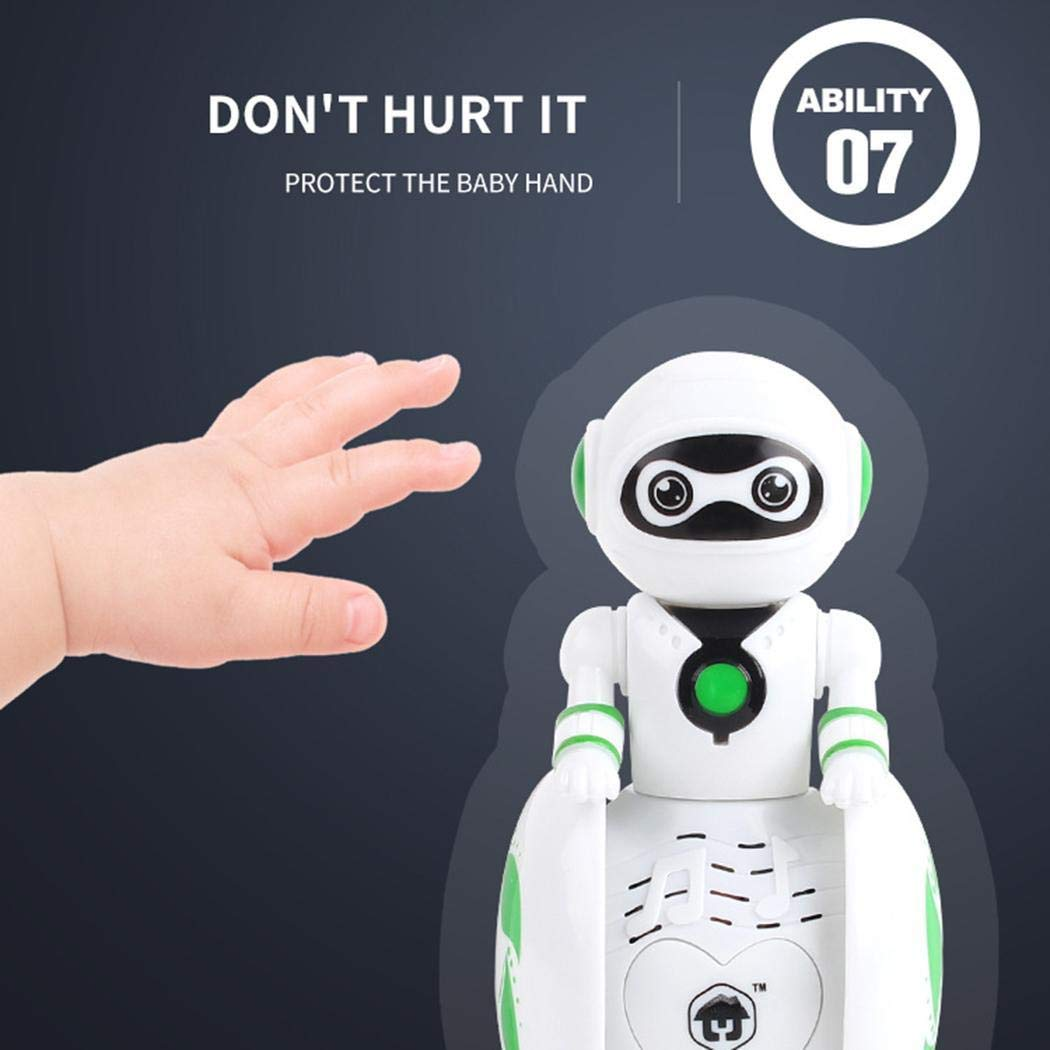 Chiak Mini Tumbler Robot Cartoon Multi-Function Induction Intelligent Music Robot Balancing Robotics