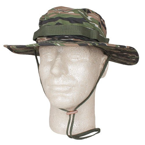- Fox Outdoor Products Boonie Hat, Tiger Strip Ripstop, Size 7 3/4