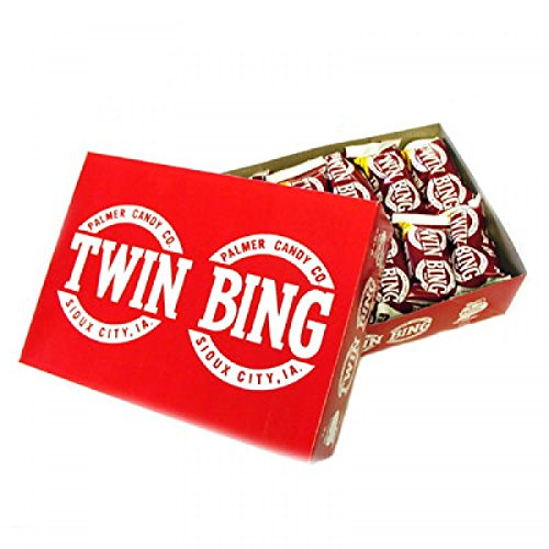 Twin Bing Cherry Candy Bar: 36 Count for sale  Delivered anywhere in USA