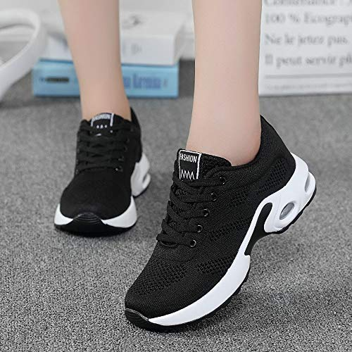 Gyoume Sports Shoes Women Slip On Shoes Running Walking Shoes Student Mesh Shoe by Gyoume (Image #2)