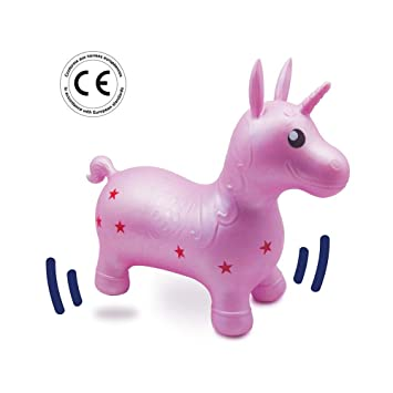 Ludi - 90008 - Mi Unicornio Saltarín - Juguete Inflable para ...