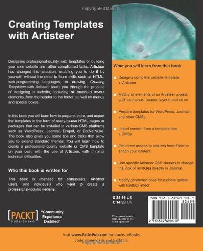 Creating templates with artisteer jakub sanecki 9781849699419 creating templates with artisteer jakub sanecki 9781849699419 amazon books solutioingenieria Choice Image