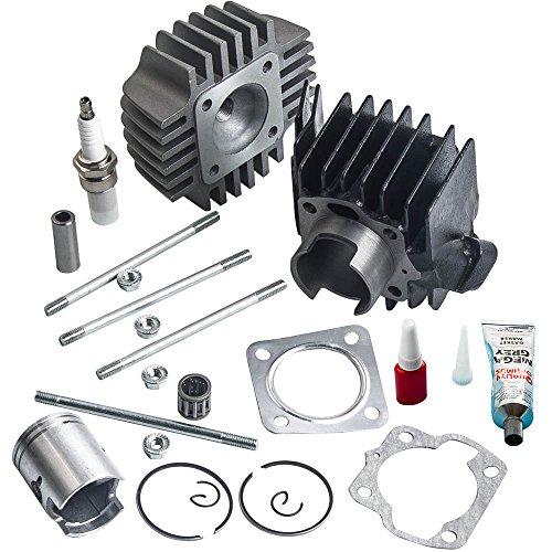 (Cylinder Piston Head Kits for SUZUKI ALT50 2002-2005, LT50 1984-1987, JR50 1978-2006)