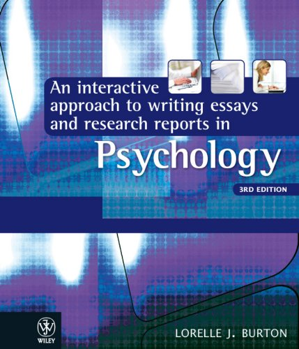 how to write in psychology  a student guide  amazon co uk  john r    an interactive approach to writing essays and research reports in psychology