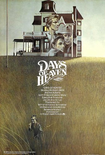 (27 x 40 Days of Heaven Movie Poster)
