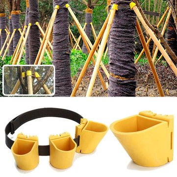Garden Tools - Gardening Tpr Fruit Tree Fixation Support Tool Plant Windbreak Protection Binding Holder Kit - Tree Support Kit Staking Straps Material - - Family Solstice Care