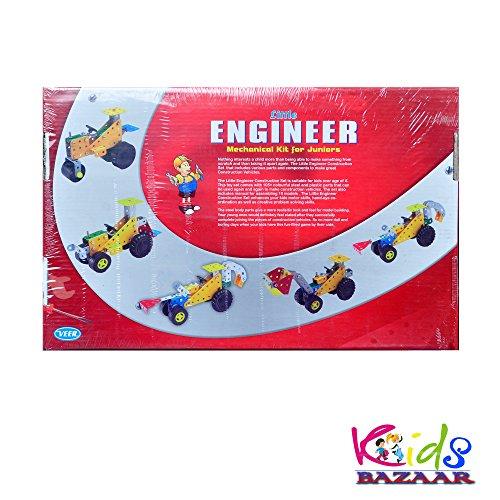 Kids Bazaar Engineer (Mechanical kit for kids 10 models 108 pc)