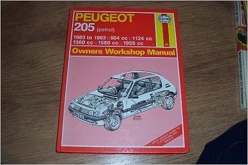 Peugeot 205 Owners Workshop Manual Haynes owners workshop manual series: Amazon.es: A. K. Legg: Libros en idiomas extranjeros