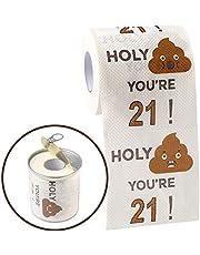 Happy Birthday Novelty Toilet Paper - Funny Birthday Gift for Women Men