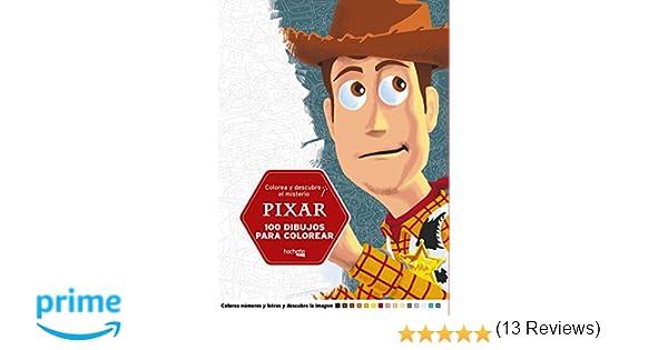 Colorea y descubre el misterio Pixar Hachette Heroes - Disney ...