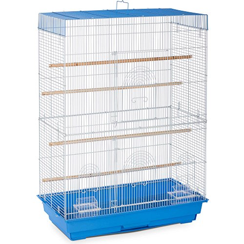 Prevue Pet Products SP42614-3 Flight Cage, Blue/White