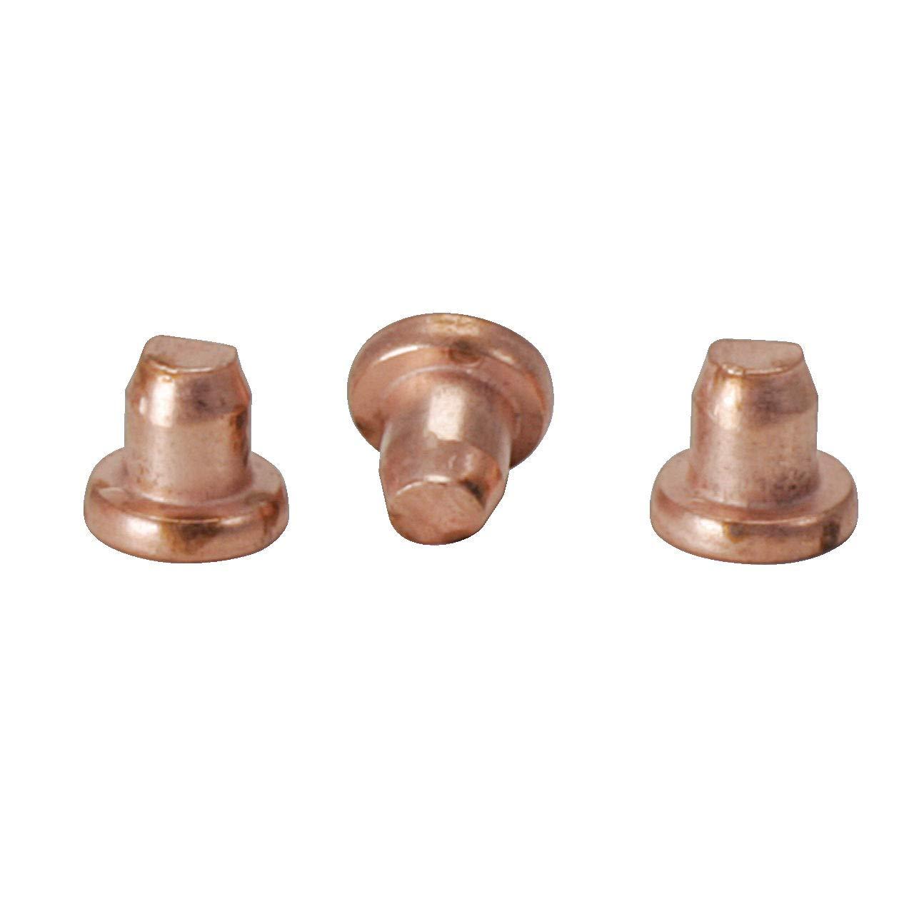 KS Tools 500.8576 Rivets 5.0 x 8.2 mm copper coated 100-pack
