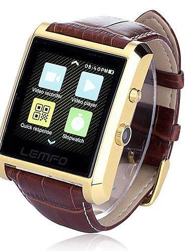 Lincass DM08 Wearable Smartwatch, IPS Media Control/Hands-Free Calls/Pedometer/