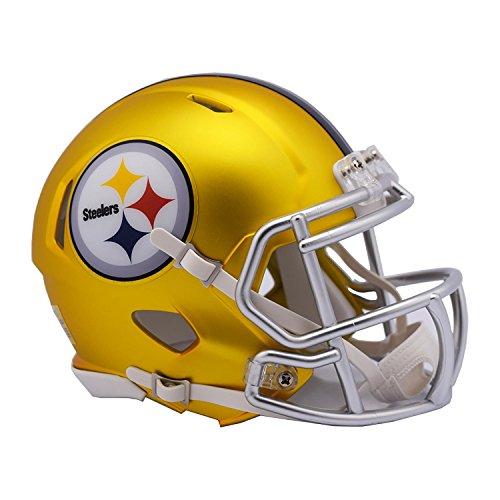 - NFL Pittsburgh Steelers Alternate Blaze Speed Mini Helmet