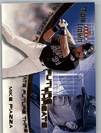 2001 Fleer Triple Crown Future Threats #FT15 Mike Piazza NM-MT MEM New York