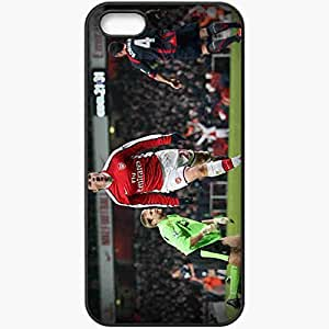 Personalized iPhone 5 5S Cell phone Case/Cover Skin Arsenal bolton andrei arshavin Black