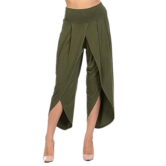 laamei Mujer Pantalones de Yoga Pantalones Deportivos de ...